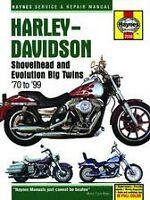 Shovelhead Evolution Harley Haynes Manual 70-99 Owners Book Shop