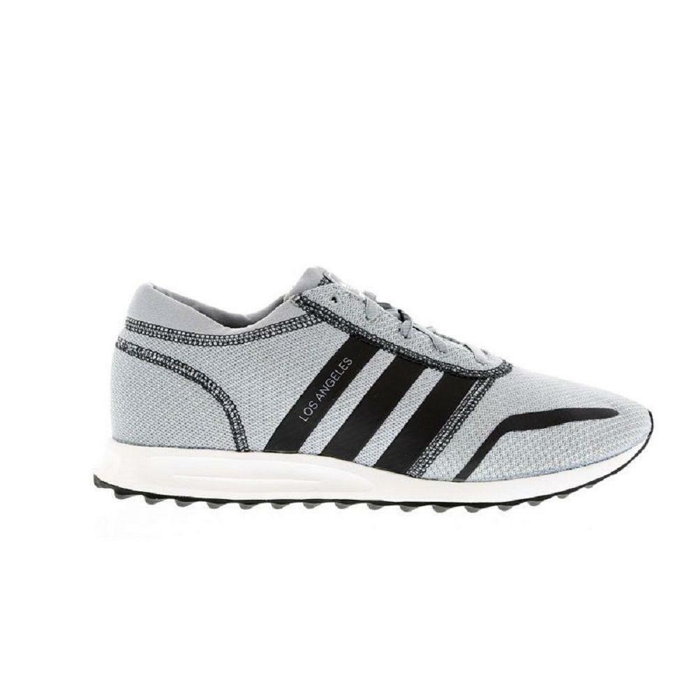 Mens ADIDAS ORIGINALS LOS ANGELES Grey Textile Trainers BA8418 Comfortable best-selling model of the brand