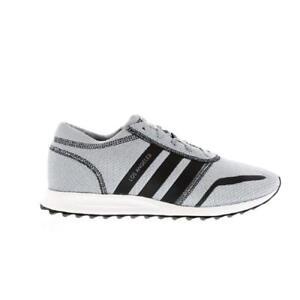 Uomo Adidas Originali Los Angeles Grey Tessile Formatori Ba8418 Ebay