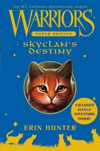 1 of 1 - Warriors Super Edition: SkyClan's Destiny, Good Condition Book, Hunter, Erin, IS