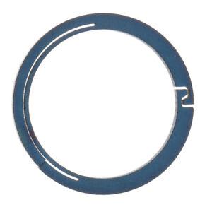 Titanium-Circle-Round-Carabiner-Hook-Keyring-Buckle-Snap-Clips-18mm-Blue