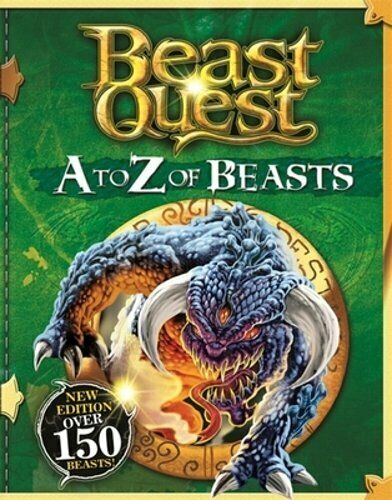 beast quest a to z of beastsadam blade new  ebay