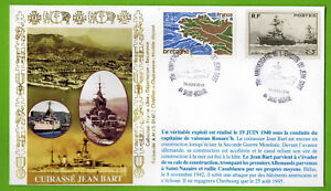 2010-Fdc-1-Jour-Cuirasse-Jean-Bart-St-Nazaire-44-Timbre-Yv-752-1917