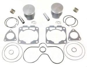 1999-2000-2001-Polaris-700-RMK-SPI-Pistons-Bearings-Gaskets-Top-End-Rebuild-Kit