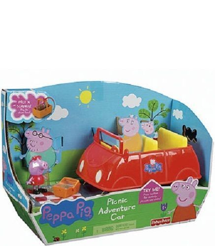 Fisher-Price Fisher price Peppa Pig Picnic Adventure Car