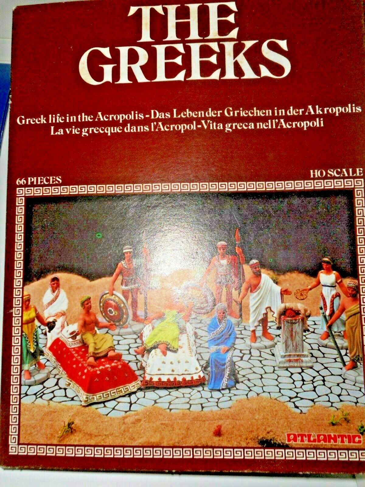 ATLANTIC 1508 THE GREEKS VITA GRECA NELL'ACROPOLI SCALA H0 492250
