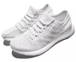 94da64920555b ADIDAS PureBOOST Men s Size 8 Running Shoes White S81991 Free S H ...