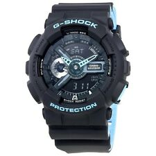 NEW* CASIO MENS G SHOCK NEON BLUE BLACK WATCH GA110LN-1AER RRP£129