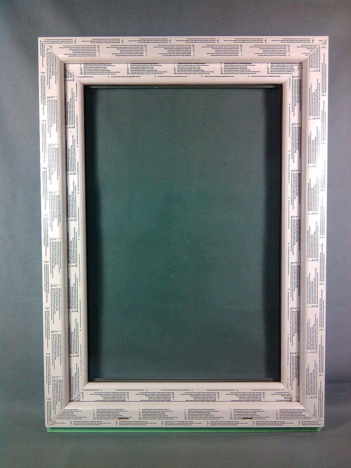 Kunststofffenster Fenster Salamander, 80x110 cm bxh, weiß