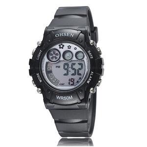 OHSEN-Children-Boys-Girls-Black-Date-Water-Proof-Digital-Quartz-Wrist-Watch-Gift