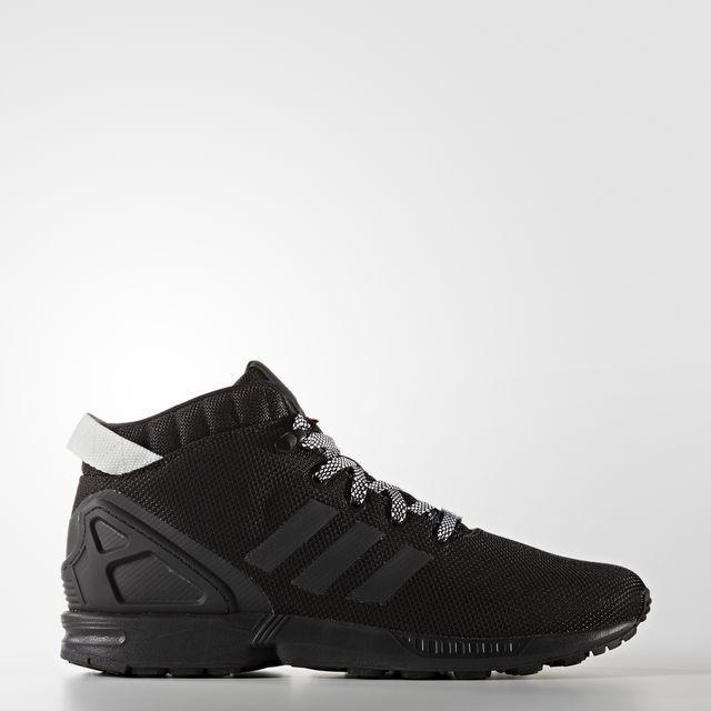 best service 2e511 5b387 Adidas Originals ZX flujo 5   8 nuevos nuevos nuevos Hombre zapatos de  invierno s75943 negro