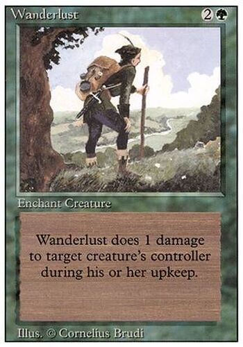 ▼▲▼ Errance (Wanderlust) 3eme #227 FRENCH Magic MTG