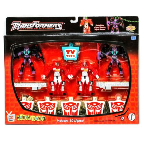 Transformers Robots in Disguise String of 10 Partylights TV Toys