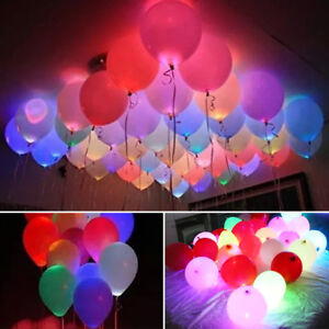 LED-balloons-48-pack-light-up-balloons-PERFECT-PARTY-decoration-wedding-birthday
