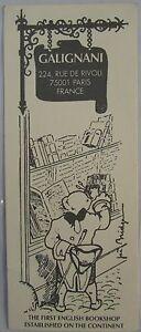 Antique-Brand-Pages-Bookmark-Advertising-Bookstore-Galignani-A-Paris-Rivoli-9