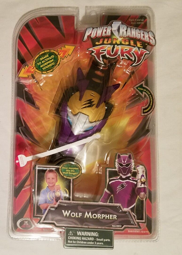 2008  energia Rangers - Jungle Fury - WOLF MORPHER Electronic Factory Sealed nuovo  shopping online di moda
