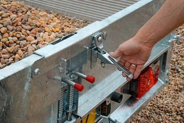 Tiptrailer, Brian James 525 - 3222, lastevne (kg): 2400