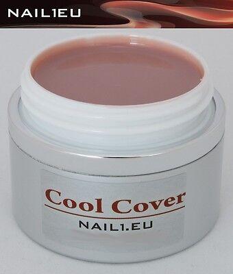 55ml Camouflage Aufbaugel NAIL1EU COOL COVER/ UV Gel Make Up Aufbau-Gel Nagelgel