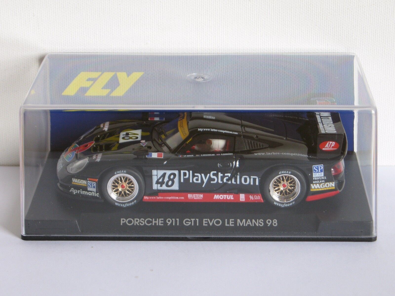 FLY Car Porsche 911 GT1 EVO Le Mans 1998 PlayStation - Ref. A55