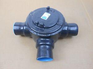 "NEW THOMAS & BETTS OCAL GUAT69-G 2"" PVC COATED CONDUIT OUTLET BOX T = PRGUAT69"