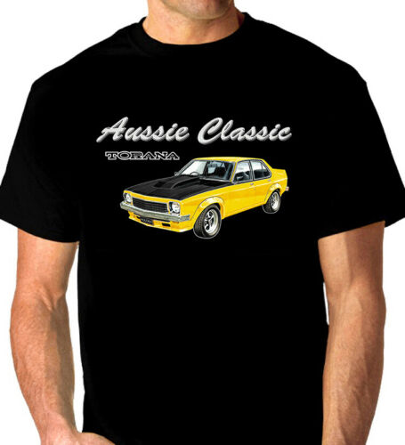 HOLDEN  LH  A9X SLR-5000 TORANA  QUALITY WHITE TSHIRT  (7 CAR COLOURS)  BIG FIT