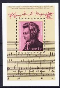 DDR-Block-62-Geburtstag-Mozart-1981-postfrisch-MNH