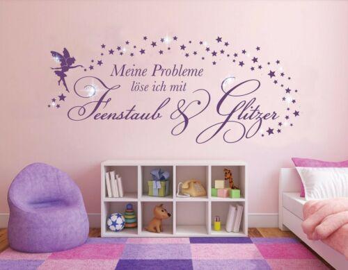 Wandtattoo Fee Wandtattoo Mädchen Wandsticker Mädchenzimmer Sprüche pkm463