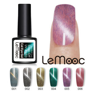 LEMOOC-8ml-Gellack-Pelz-Magnetisch-Nagel-Kunst-Winter-Soak-Off-UV-Gel-Polish