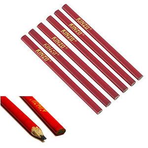 12 Stück Zimmermannsbleistift Handwerker Maurer Schreiner baubleistift Bleistift