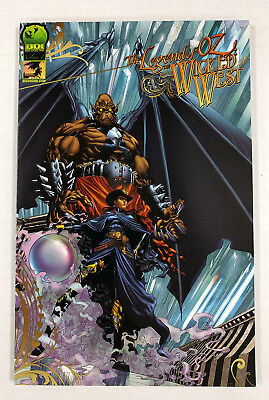 BIG DOG INK COMIC 2011 TOM HUTCHISON NM LEGEND of OZ the wicked west #4 A of 6