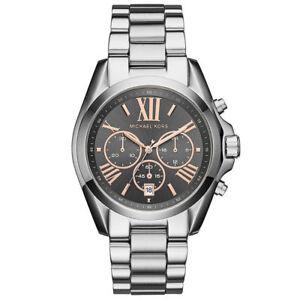 Details about Michael Kors Women's 'Bradshaw' Quartz Stainless Steel Casual Watch Mk6557
