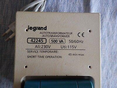 1000VA Autotransformateur 230V//115V