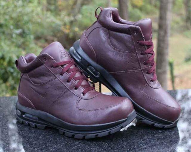 Nike Air Max Goaterra ACG Boots Men's Size 12.5 Deep Burgundy 365970 666