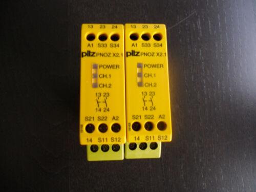 Pilz PNOZ X2.1 24VAC//DC 2n//o Sicherheits-Schaltgerät 774303