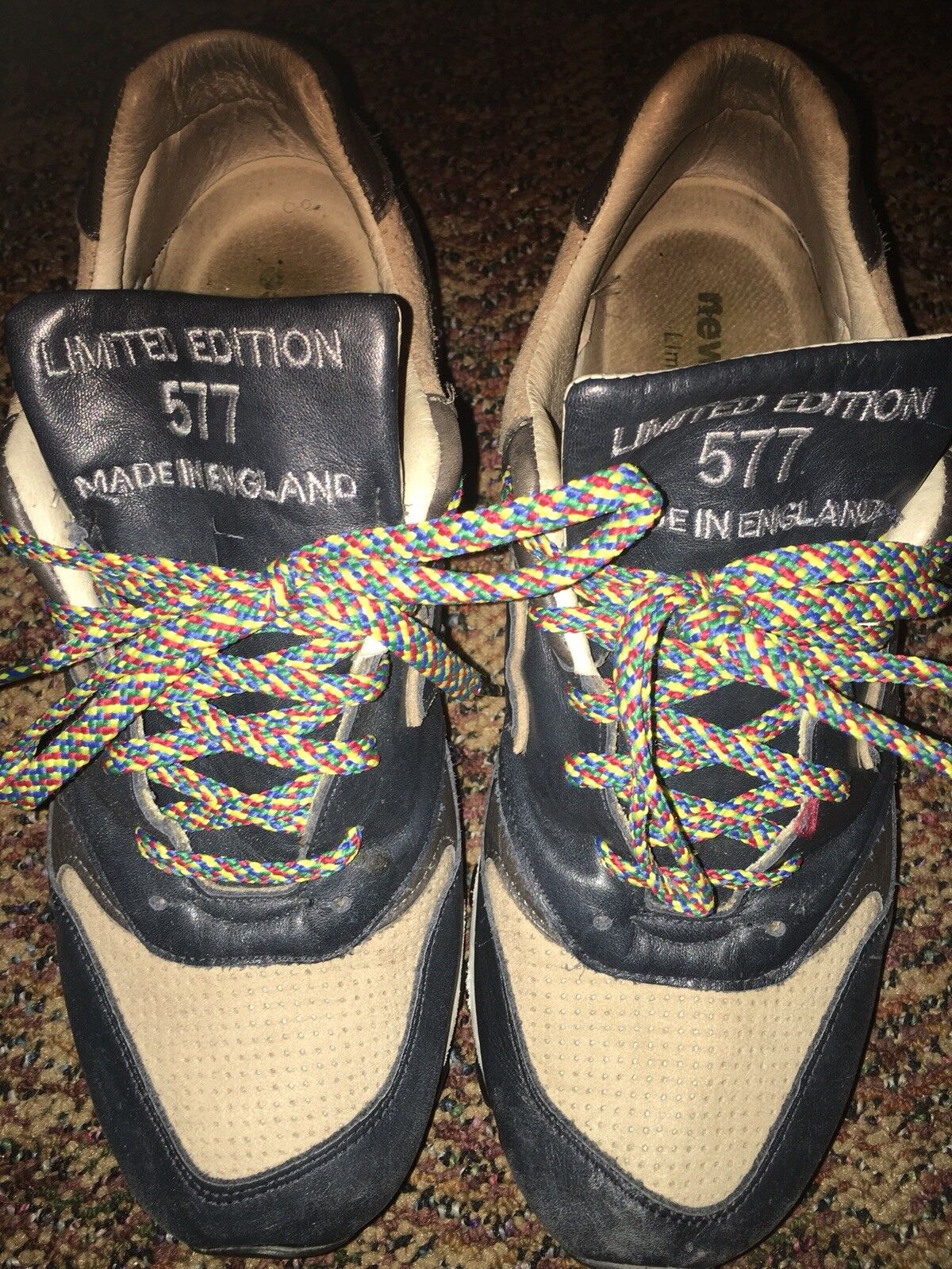 NEW BALANCE LIMITED EDITION   VINTAGE RARE   NO RESERVE   SEE DETAILS
