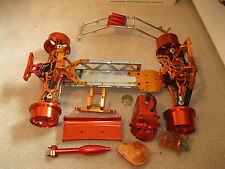 KING MOTOR RC 1/5 SCALE HPI BAJA 5b ORANGE ALL ALUMINUM ROVAN BUGGY