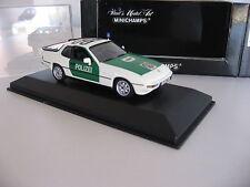 Duesseldorf Autobahn Police Porsche 924 Polizei limited edition 1 of 2,016