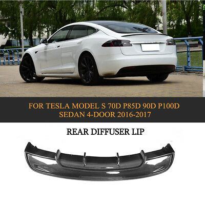 Rear Bumper Lip Diffuser Refit for BMW F87 M2 Coupe 2-Door 16-17 Carbon Fiber