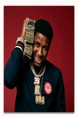 YoungBoy Never Broke Again Custom Rap Music Star Album Fabric Decor Poster B536