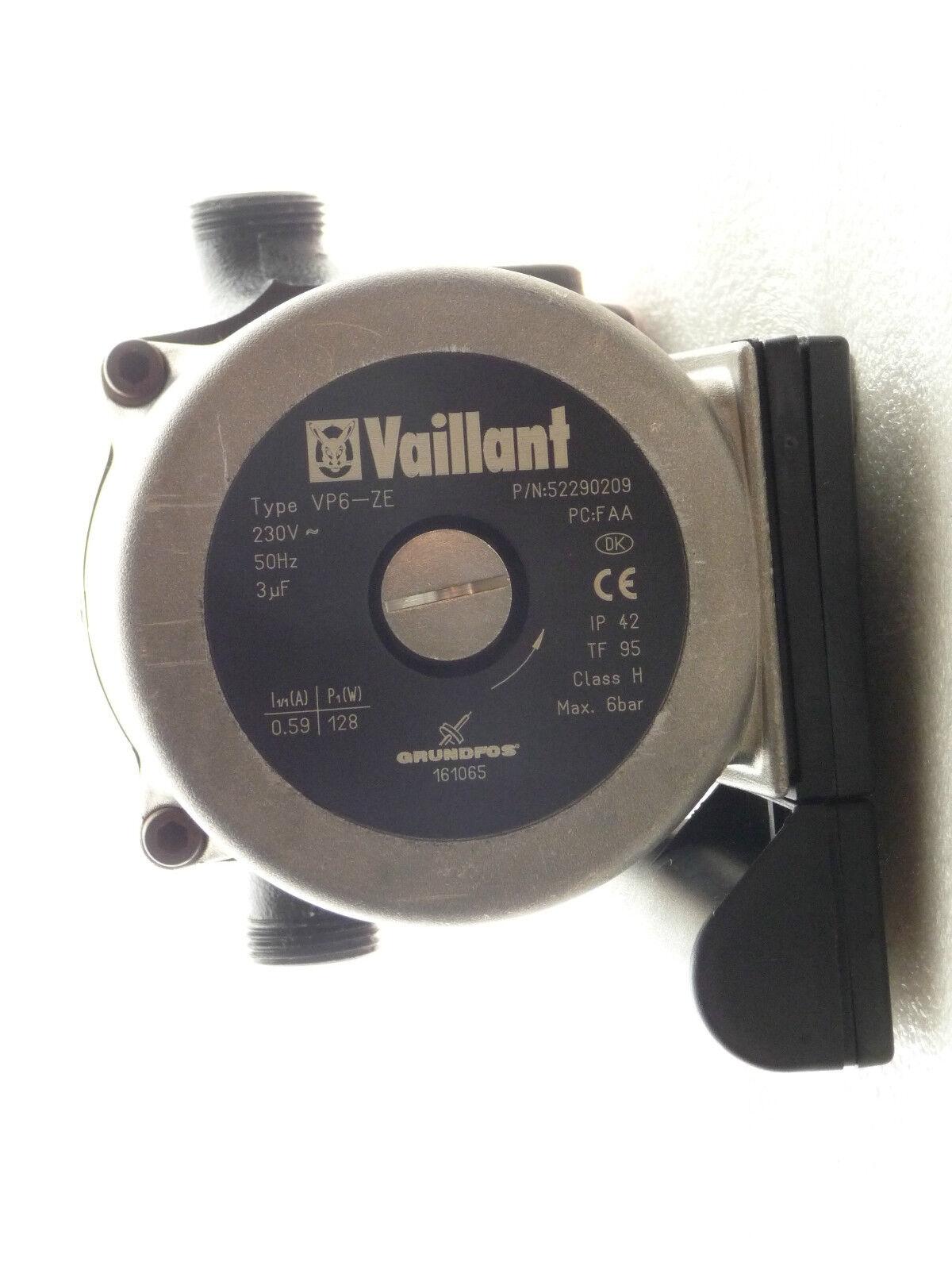 Grundfos 161065 Vaillant VP 6 ZE Heizungspumpe Heizungspumpe Heizungspumpe 230 Volt NEU P4333/18 a97289