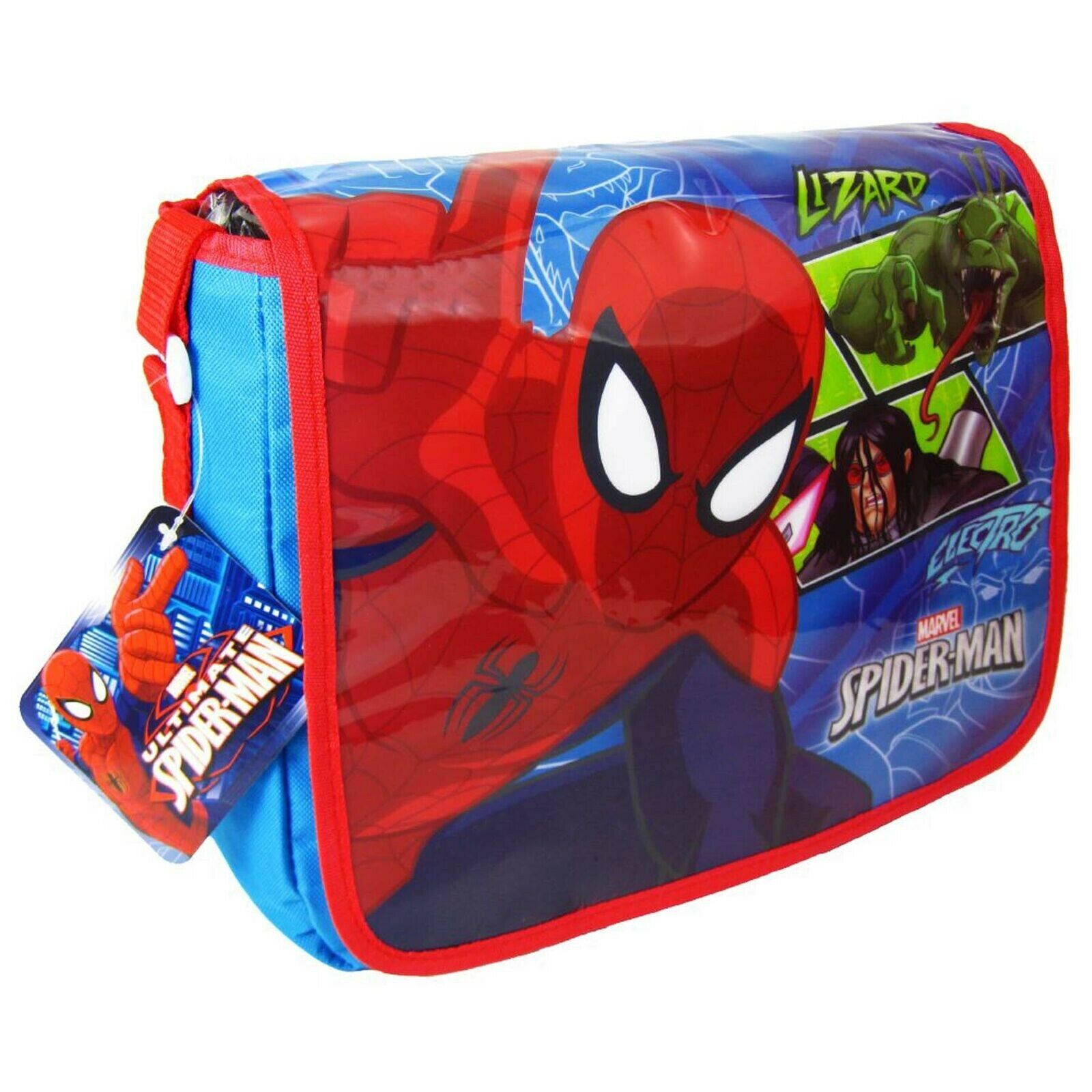OFFICIAL LICENSED SPIDERMAN CHILDREN/'S LUNCHBAG