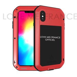 coque iphone xs max antichoc et etanche