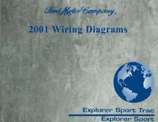 2001 Ford Explorer Sport Trac Wiring Diagrams Book Factory For Sale Online Ebay