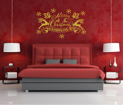 Christmas wall stickers quotes Wall Art Snowman Decor Decal AR19