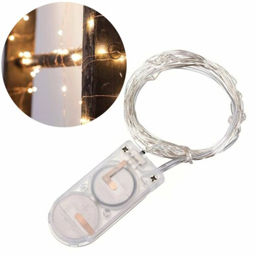 20LED Copper Wire String Light Fairy Christmas Wedding Battery Decoration Hot