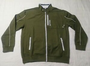 New-Ecko-Newbie-Men-039-s-Track-Jacket-Green-Martial-Arts-Track-amp-Field-MMA