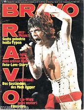 BRAVO Nr. 49 - 29.Nov. 1972 ★ Mick Jagger, Uschi Glas,Moody Blues,Ilja Richter