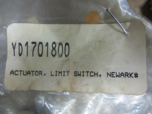 2 NEW SETS OF NEWARK ACTUATOR LIMIT SWITCHES YD1701800XT27H