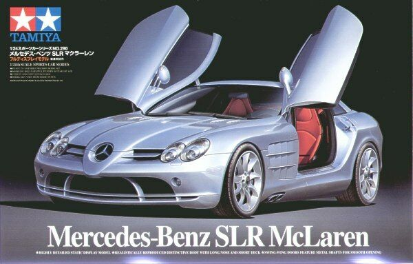 Tamiya 1  24 Mercedes Benz SLR McLaren