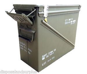 Ammo-Box-M61-Military-Issue-Ammo-Storage-Case-USED-AB23